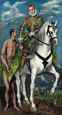 El_Greco_-_San_Martín_y_el_mendigo