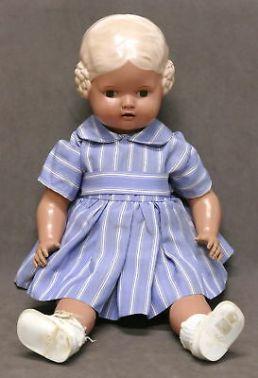 Bambole-antiche-Bambola-in-celluloide-marca-Tartaruga